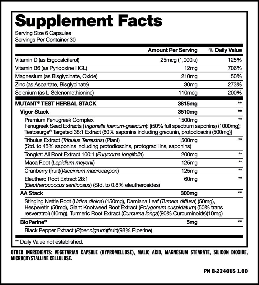 MUTANT TEST - Whey Protein Supplements, & Gym Equipments