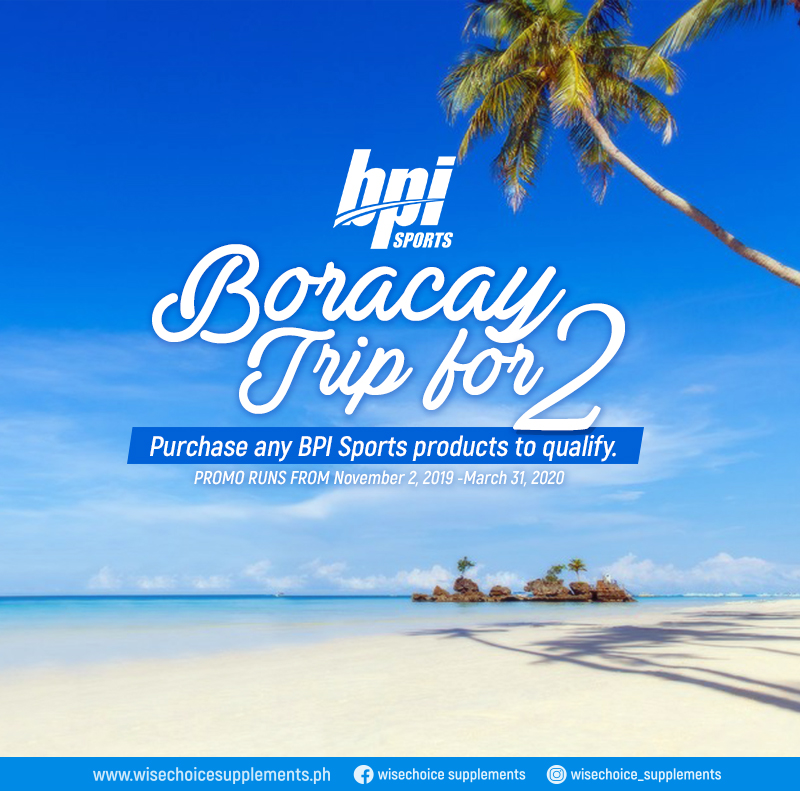 A Trip for 2 to Boracay!